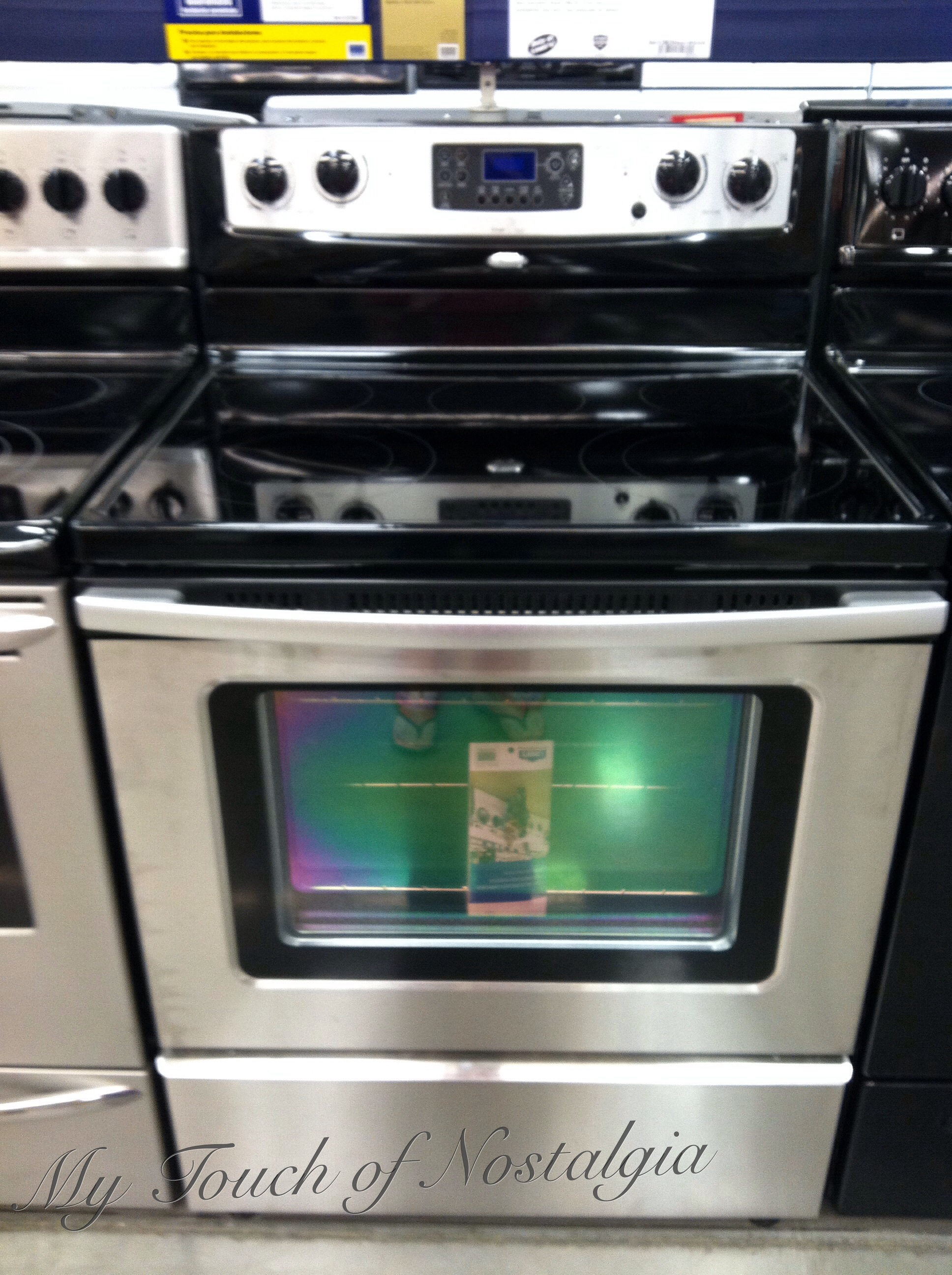 exciting cook stoves at lowes. Of course when I show Mr  Nostalgia his refrigerator photos well that the one he has to have So on sales weekend head Lowes purchase my new My touch of