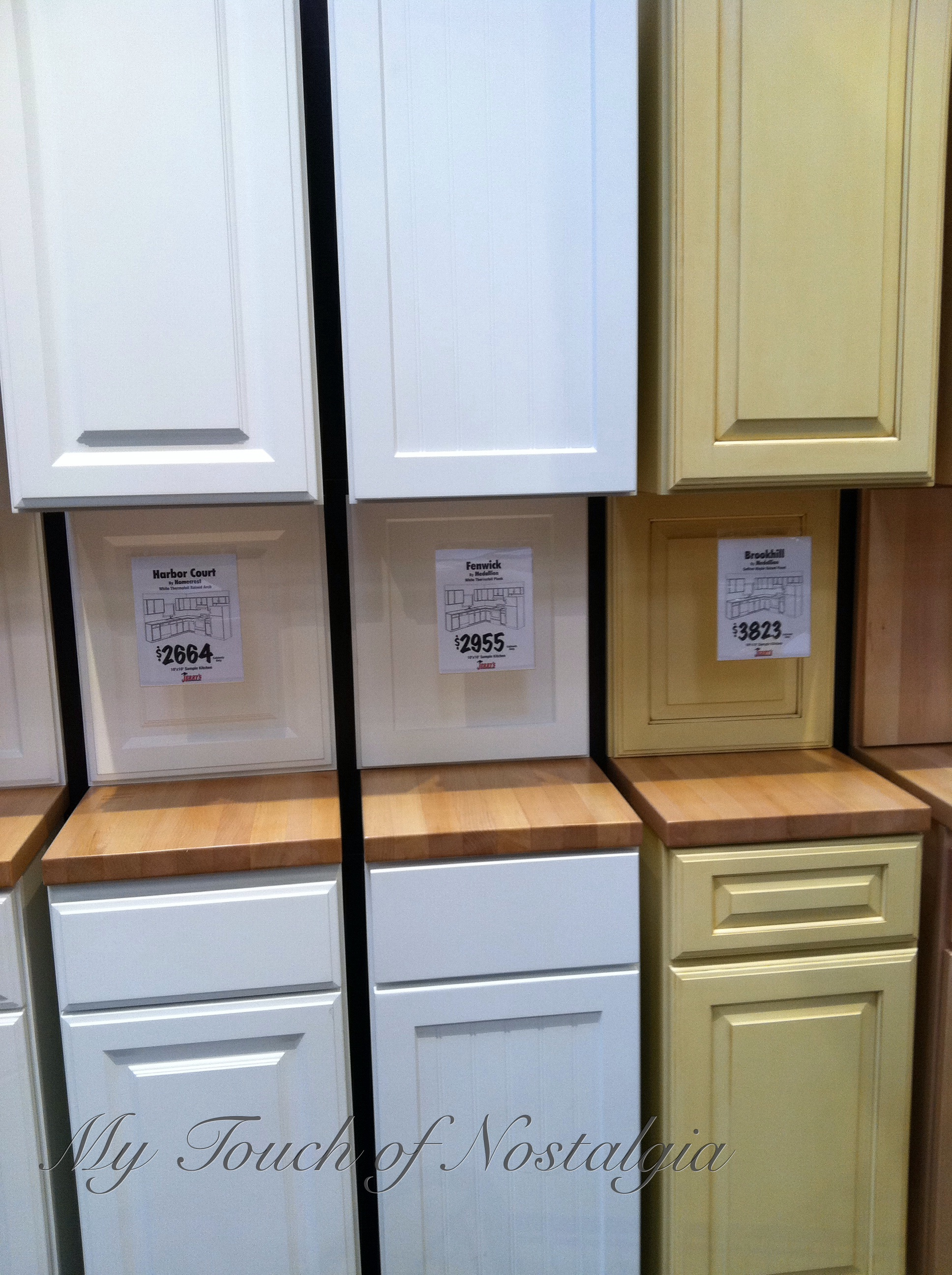 Bon Examples Of Some Of The Cabinets I Looked At That Were Pre Made. I